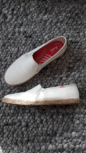 KEDs Sneaker aus Leinen mit Bastsohle, Gr. 39
