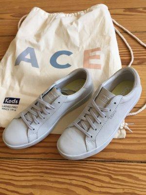 Keds Sneaker Leder Ledersneaker ACE blau pastell Mono - NEU - 38