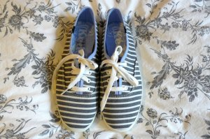 Keds Sneaker Schnürschuhe gestreift