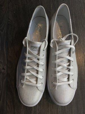 Keds Chaussures à lacets gris clair