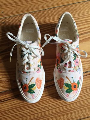 KEDS Sneaker Sneakers Blumen ANCHOR RIFLE PAPER LIVELY FLORAL PINK - 38 - NEU
