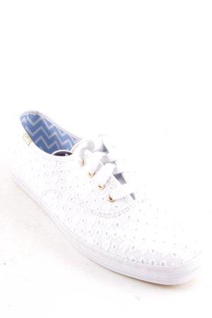 Keds Sneaker weiß-goldfarben Casual-Look