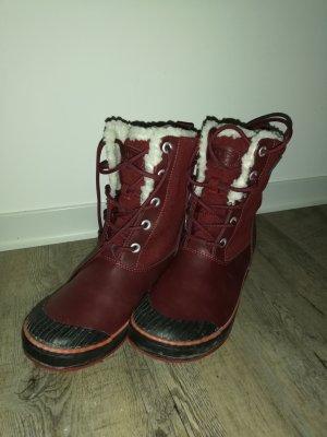 Keen Bottes de neige rouge carmin