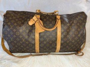 Louis Vuitton Borsa da viaggio marrone-beige