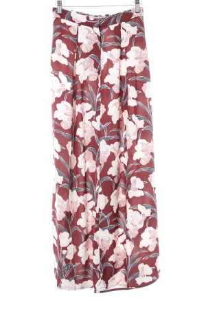 Keepsake Marlenehose florales Muster 90ies-Stil