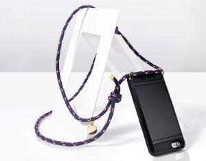 Étui pour téléphone portable noir-kaki