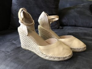 8 Espadrille Sandals oatmeal leather