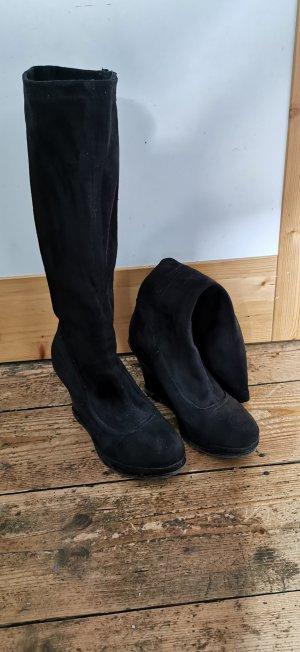 Graceland Stivale cuissard nero