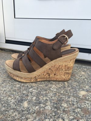 Sommerkind Wedge Pumps taupe
