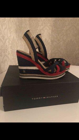 Tommy Hilfiger Platform High-Heeled Sandal multicolored