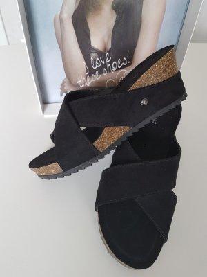 Keil Sandalen *bequem*  Gr.38