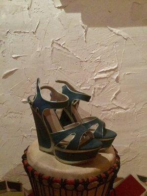 Keil Sandaletten, Größe 38