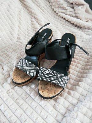 Keil Sandalettten