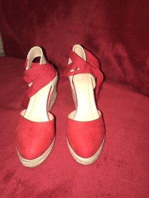 Pimkie Wedge Pumps red