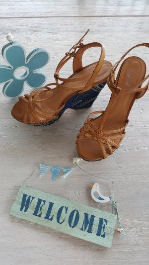 Keilabsatz Riemchen Schuhe Limelight Gr 39