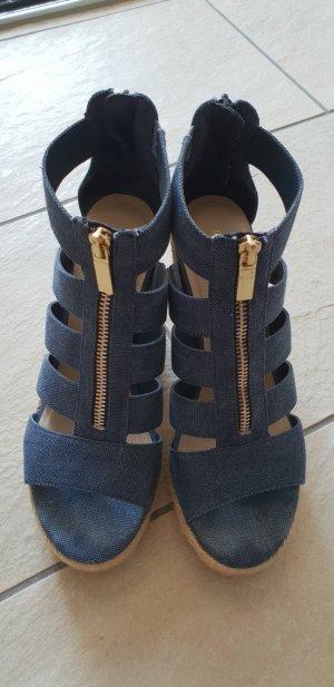 Keilabsatz- Sandalen