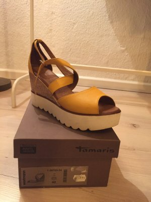 Tamaris Plateauzool sandalen veelkleurig