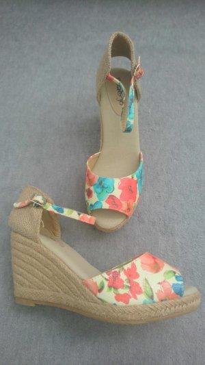 Keilabsatz Sandalen Mia & Jo