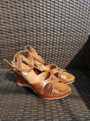Keilabsatz Sandalen NEU