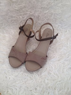 Keilabsatz Sandalen von S.Oliver