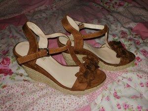 Keilabsatz Sandalette