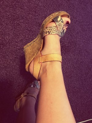 Keilabsatz Schuhe gr 37