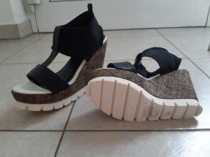 Keilabsatz Schuhe Gr. 38