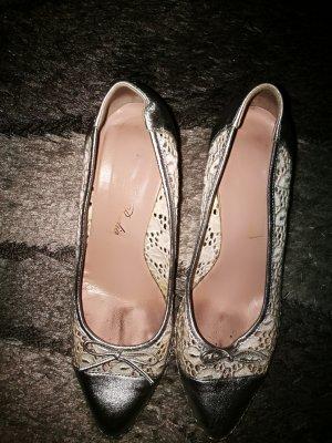 Keilabsatz-Schuhe made in italy 37