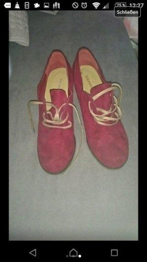 Keilabsatz Schuhe neu
