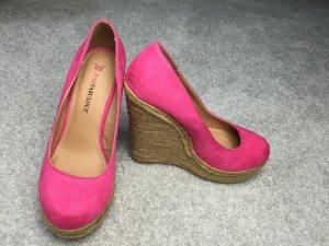 Keilabsatz Schuhe Pink von JustFab