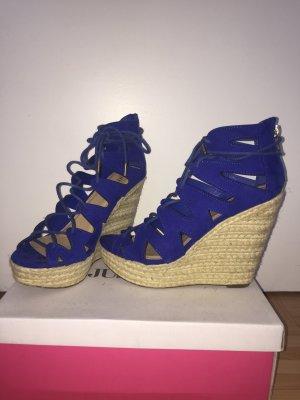 Just Fab High-Heeled Sandals blue