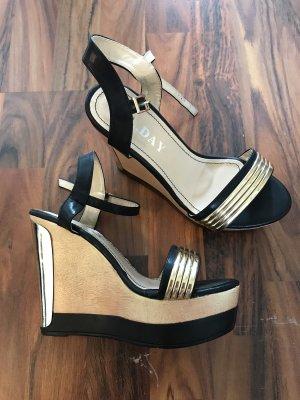 Keilabsatz Schuhe -ungetragen