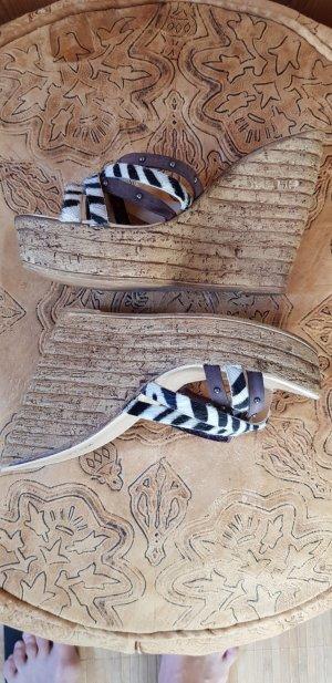 Keilabsatz Schuhe Wedges Sandaletten