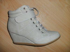 Keilabsatz Sneaker/Stiefel