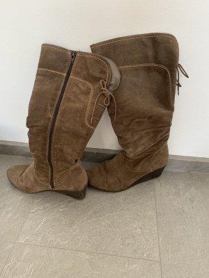 Tamaris Heel Boots ocher
