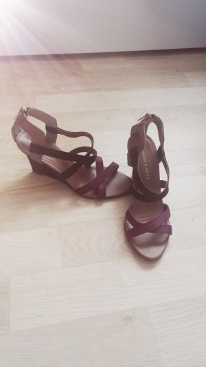Charles & Keith Wedge Sandals multicolored