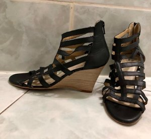 Görtz Shoes Wedge Sandals black