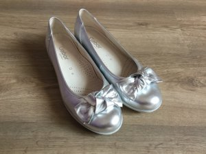 Gabor Ballerinas light grey leather