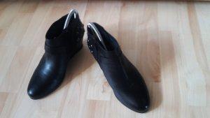 Keilbootie von Pepe Jeans schwarz mit Nieten