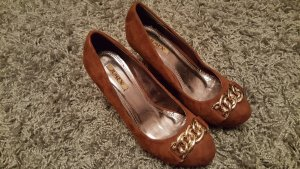 Jumex Wedge Pumps brown
