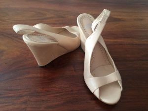 ASH Wedge Sandals nude