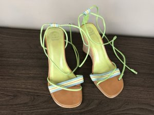 Zara High-Heeled Sandals multicolored