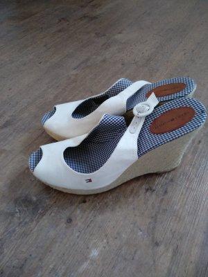 Tommy Hilfiger Platform High-Heeled Sandal white