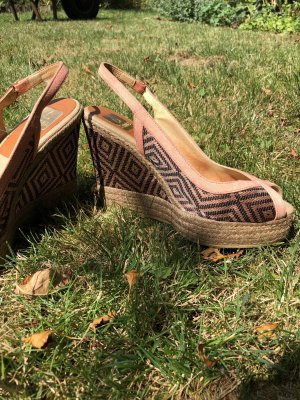 Kanna Platform Sandals multicolored