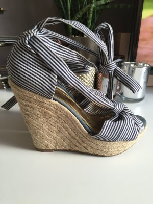H&M Wedge Sandals multicolored