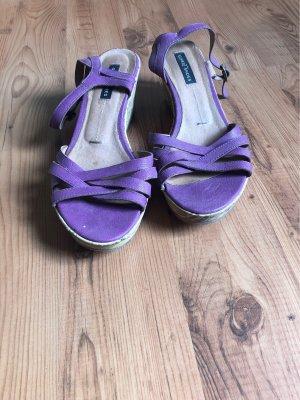 Görtz Shoes Platform High-Heeled Sandal lilac