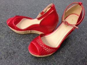 Wedge Sandals red
