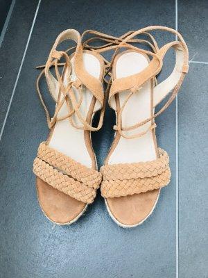 Platform High-Heeled Sandal multicolored