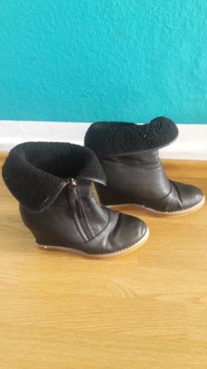 Keilstiefel Wedges Boots Keil-Stiefeletten