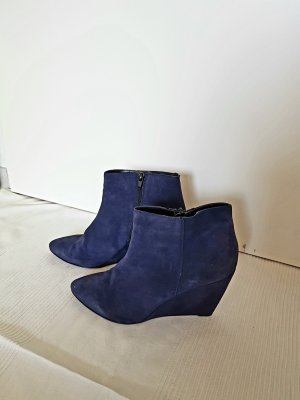 lazzarini Wedge Booties blue-dark blue